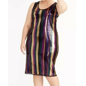 🔥➕ NWOT Rachel Roy 💜 Sequence Dress